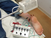 Electrical Acupuncture Combining with Heat Treatment